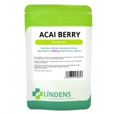 Lindens Acai Berry Double Strength 60 capsules (30 day supply)