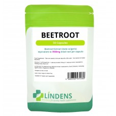 Lindens Super Strength Beetroot Extract 3500mg; 50 capsules