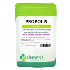 Lindens Propolis 1000 mg; one-a-day x 60