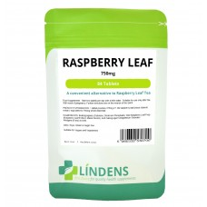 Lindens Raspberry Leaf Tea; 84 Tablets; 750mg;