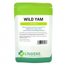 Lindens Wild Yam, 100 tablets, 500mg - one a day